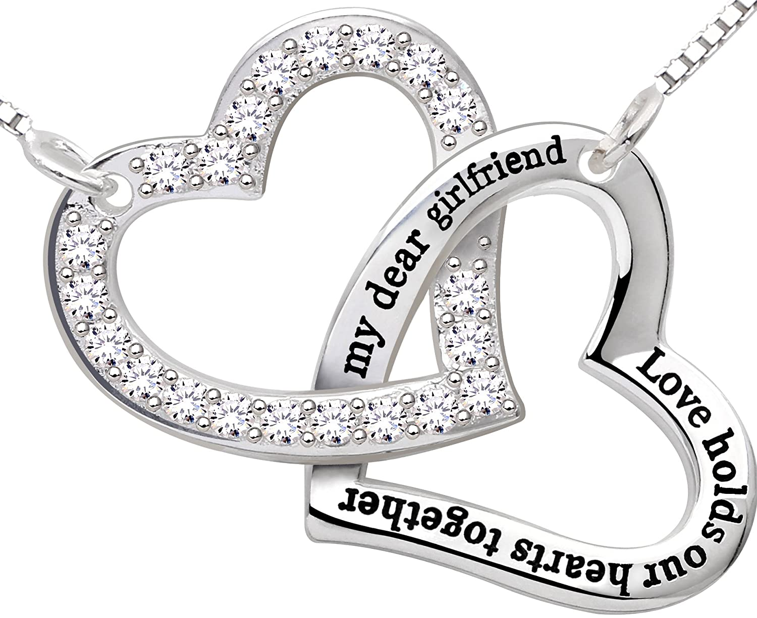 boyfriend pizza friends christmas of gift girlfriend tradesy necklaces other i best necklace set new sisters silver