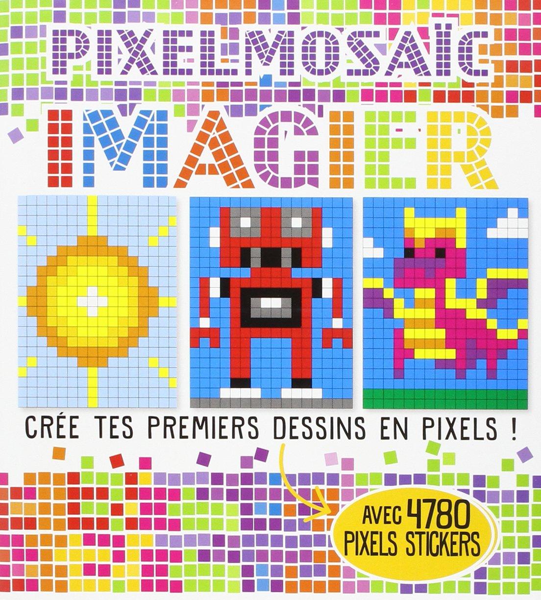 Imagier Crée Tes Premiers Dessins En Pixels Amazonfr