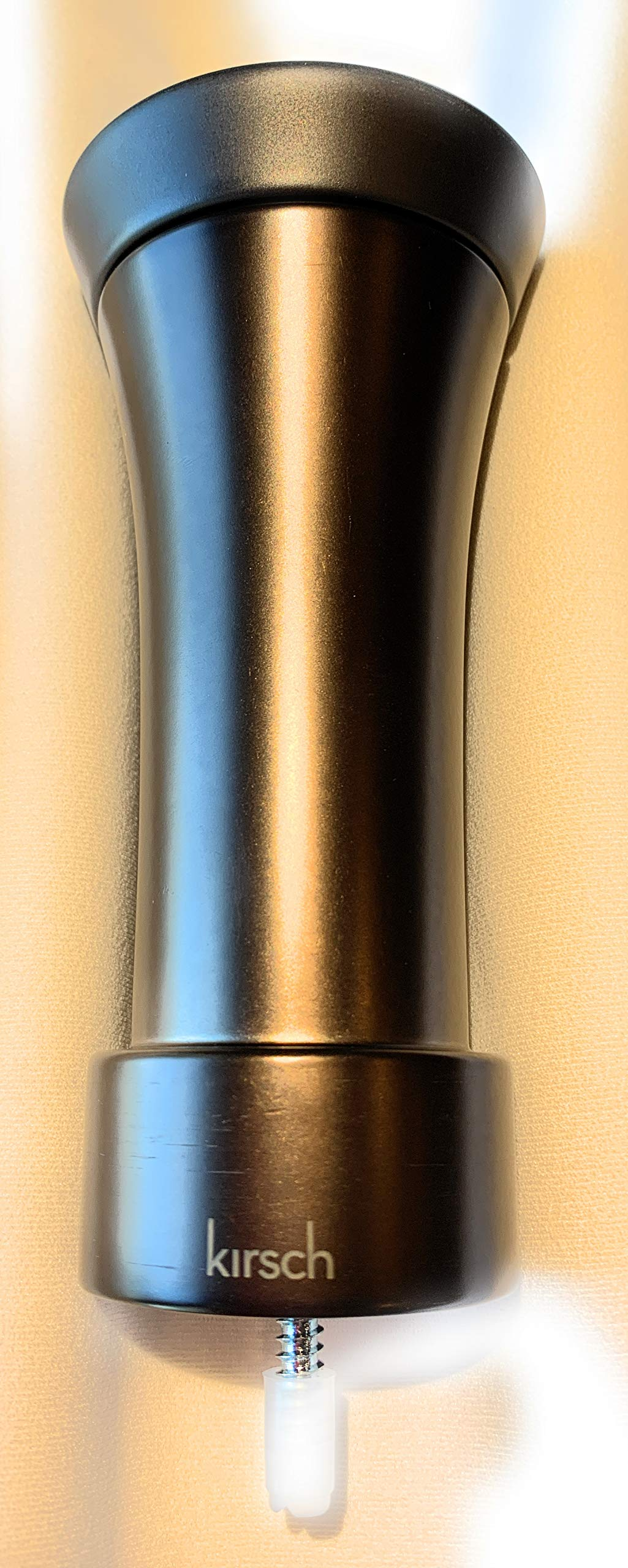 Kirsch Designer Metals Accent 1 3/8'' Finial, Color: Black Bronze Accent Caramel Bronze (1831722)