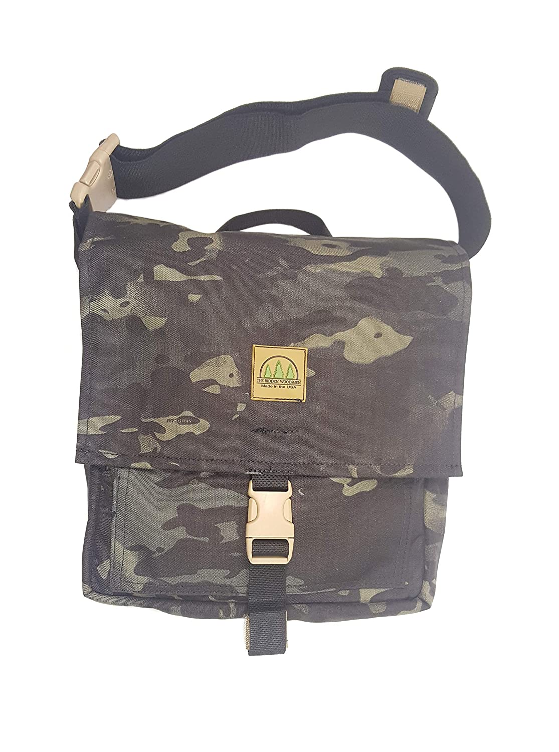 The Hidden Woodsmen Haversack ブッシュクラフトパック バックパック  Multicam Black B07HVY2JBF