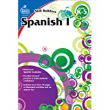 Carson Dellosa Skill Builders Spanish I Workbook—Grades K-5 Reproducible Spanish Workbook With Spanish Alphabet, Numbers, Voc