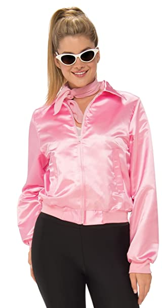 7fba54f562c6d Rubie's Costume Co Women's Grease, Pink Ladies Costume Jacket, As Shown, ...
