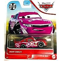 Disney y Pixar Cars Jimmy Cables, Miniatura, coleccionables Racecar Automóvil Juguetes basados en Coches Películas, para…