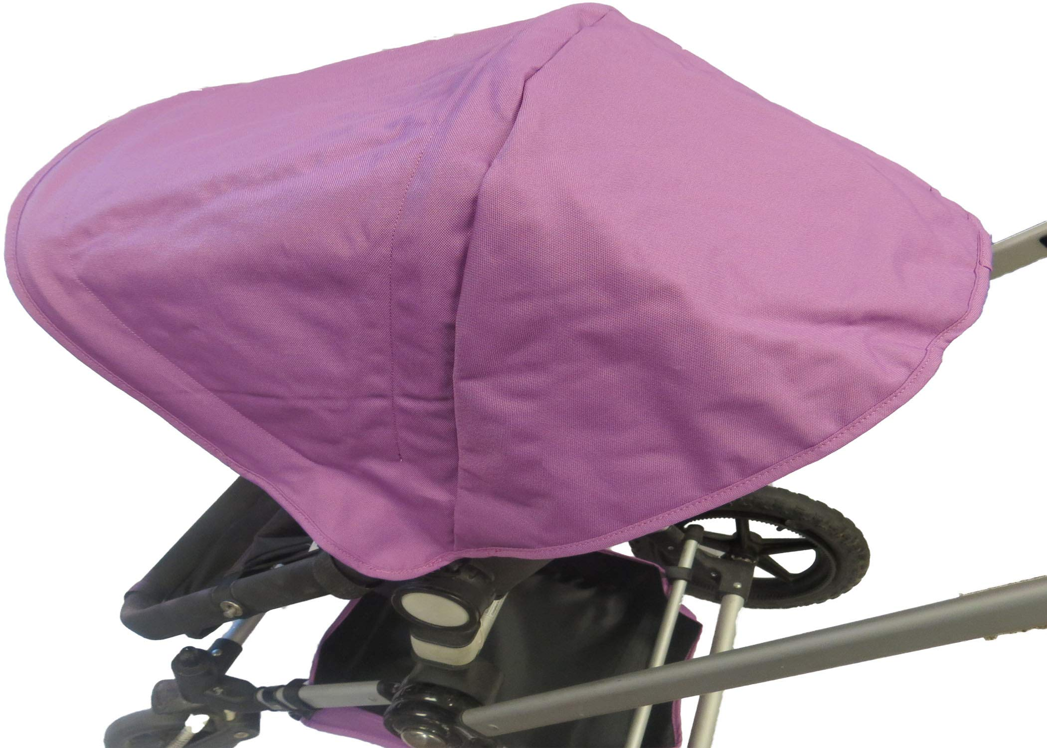 Purple Sun Shade Canopy Hood Cover Umbrella with Wires for Bugaboo Cameleon 1, 2, 3, Frog Baby Child Strollers