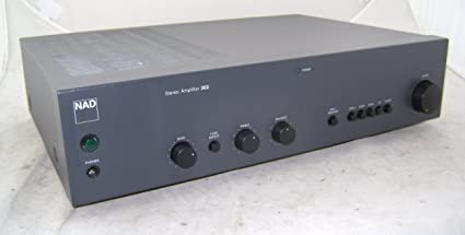 NAD Integrated Amplifier 302 Hi-fi Amp: Amazon co uk: Electronics