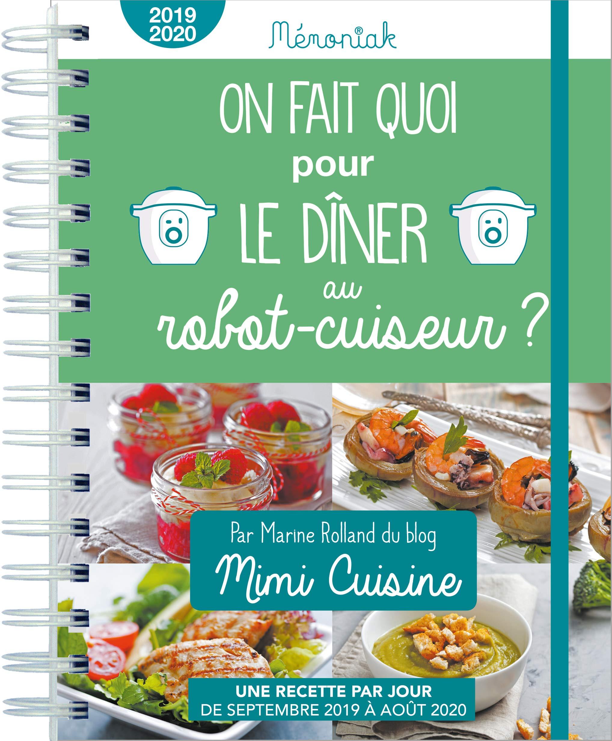 Amazon Fr On Fait Quoi Pour Le Diner Au Robot Cuiseur