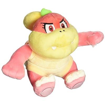 "Little Buddy USA Super Mario All Star Collection Bun Bun/Pom Pom Stuffed Plush, Pink, 6.5"": Toys & Games"