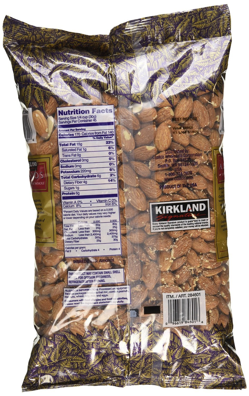 Kirkland Signature Supreme Whole Almonds, 3 Pound (Pack of 2) by Kirkland Signature (Image #3)