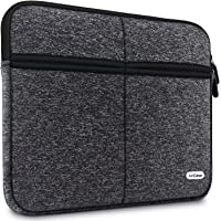 AirCase C22 15-Inch to 15.6-Inch Laptop Sleeve, Premium, Designer, 6-MultiUtility Pockets (Charcoal Black)