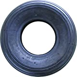 Shepherd Hardware 3340 4.00x6-Inch Wheelbarrow Replacement Tire, 13-Inch, Ribbed Tread