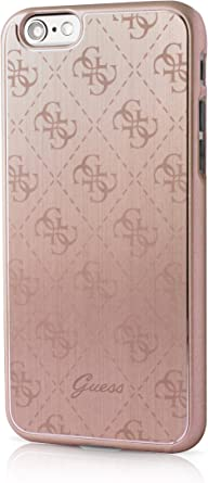 : Guess 4G Collection Aluminum Plate Hard Case for