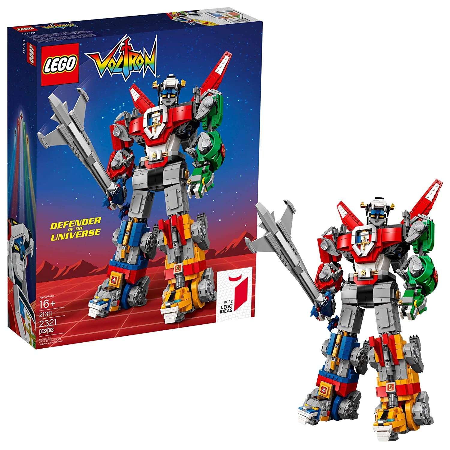 Lego Ideas - Voltron 21311 Building KIt (2321 Piece) 6207485
