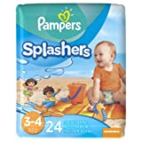 Amazon Price History for:Pampers Splashers Diapers - Size 3-4 - 24 ct