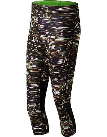 Pantalones pirata de running para mujer  2379d0075196