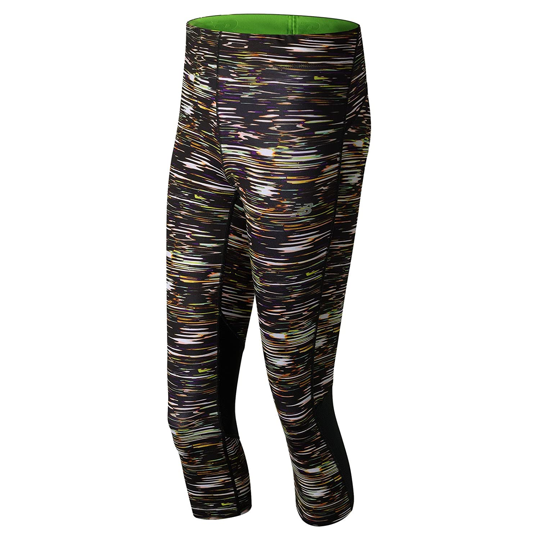 New Balance Women's Impact Capri Printed Pants New Balance Clothing WP71226-P