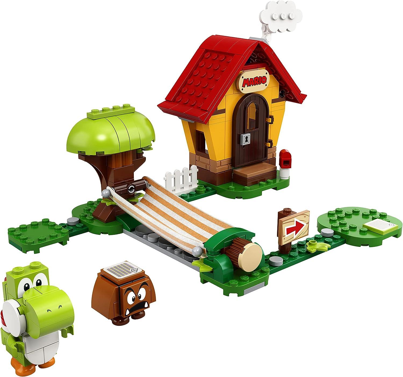 レゴ(LEGO) スーパーマリオ ヨッシー と マリオハウス 71367