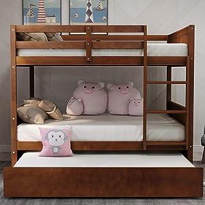 Julyfox Full over bunk bed