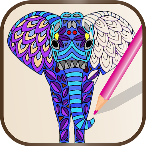 animal mandala coloring pages appstore for android. Black Bedroom Furniture Sets. Home Design Ideas