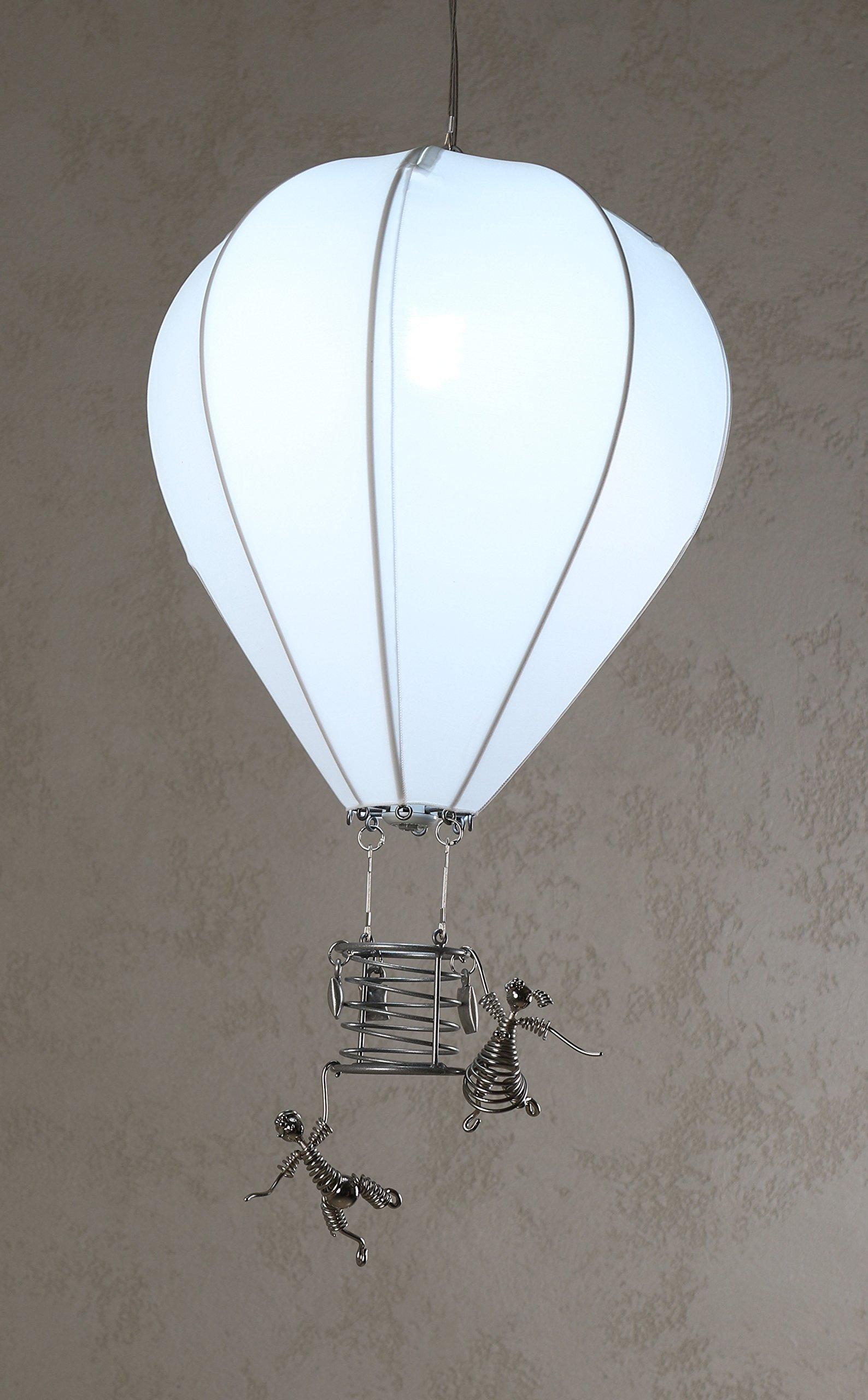 ArtBuz Hot Air Balloon Chandelier Ceiling Lamp Light – Modern & Chic Dining, Bar, Living Room, Loft Chandelier – Lighter than Air Series