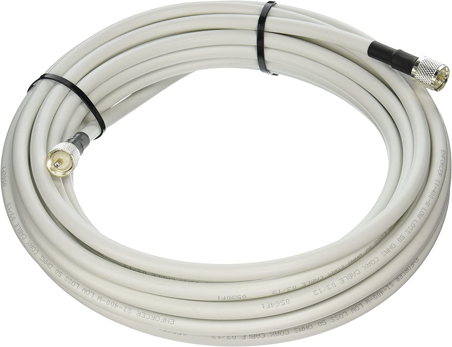 100ft 2 PL-259  LMR-400 Antenna VHF Coaxial Cable