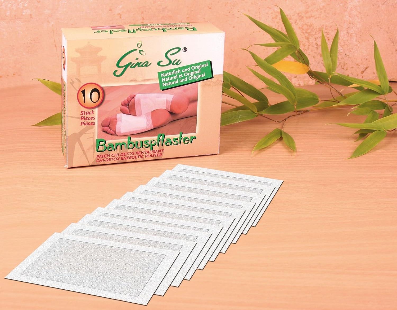 Gina Su Bambuspflaster 60 Stuck 6x10stuck Entschlackung Und