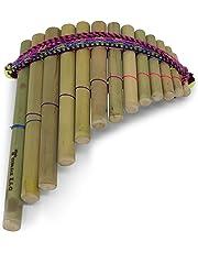 Tumi Latin American Crafts - Flauta de pan (13 tubos, forma curvada)