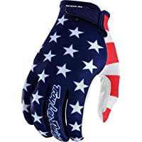 Troy Lee Designs Air Americana Men's Off-Road Mountain Bike Gloves - Navy/Red / Large