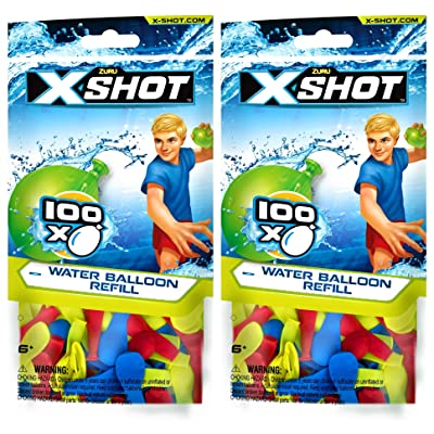 ZURU X-Shot Water Balloon Refills (2 Pack): Toys & Games