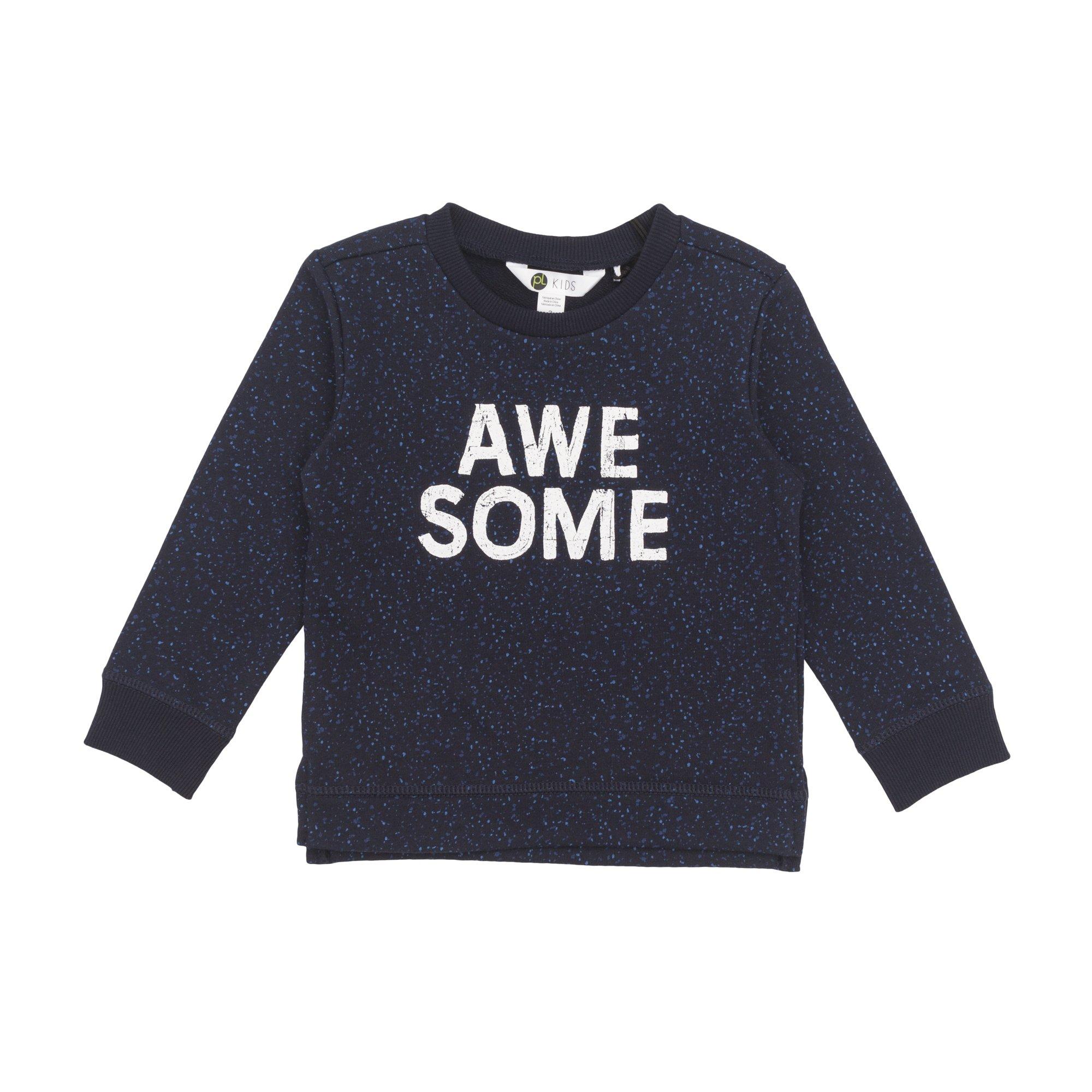 Petit Lem Big Boys' Sweater Top Comfortable and Stylish, Navy, 3