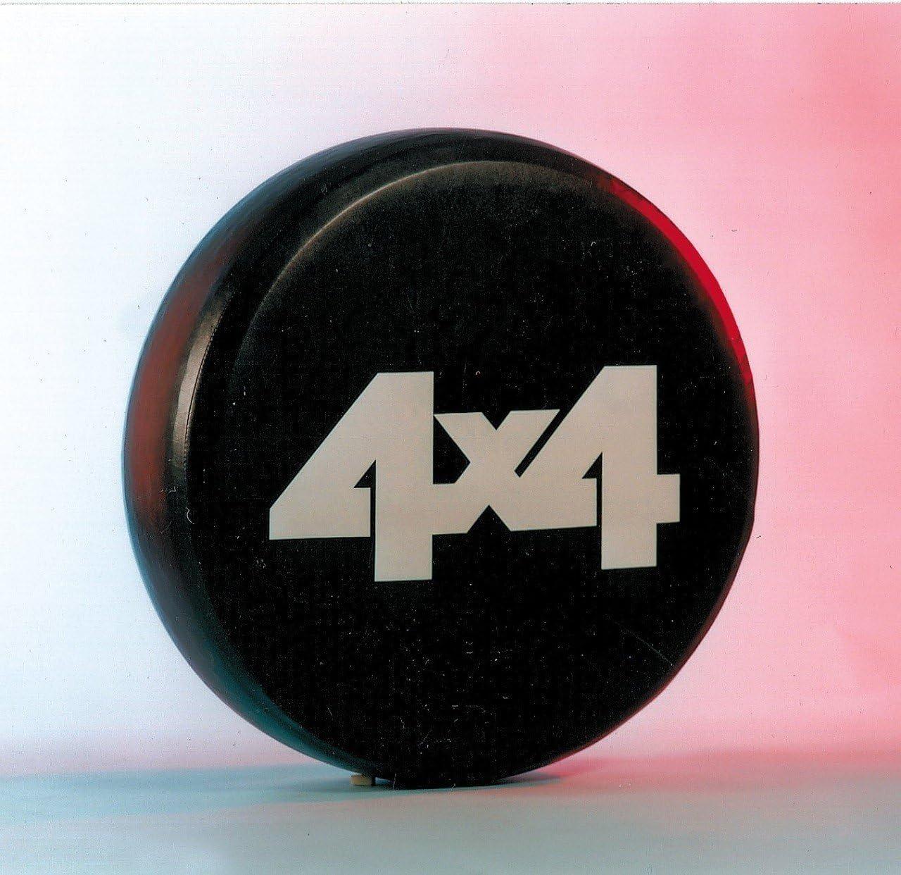 72/x 28/cm Housse universelle adapt/ée pour de nombreuses tailles de pneus Hansen Styling Parts Housse de roue de secours avec impression /«/4x4//»