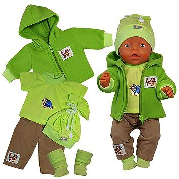 Kleidung & Accessoires Puppenkleidung  für 43 cm Puppe z.B Baby Born BOY Hose-Hemd Nr.414 NEU