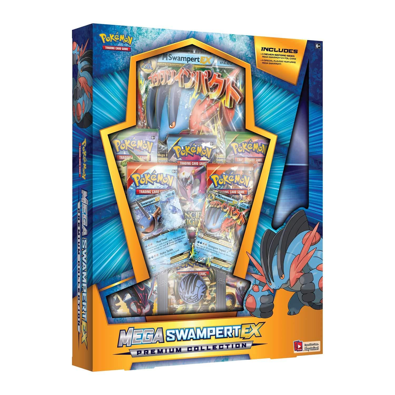 Amazon.com: Pokemon TCG: Mega Box-Swampert Ex lb Game, Blue ...