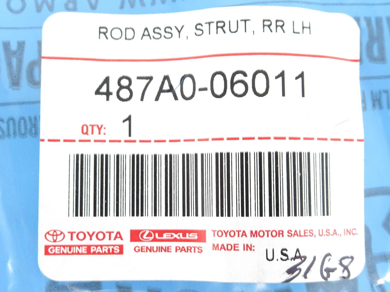TOYOTA 487A0-06011 Suspension Strut Rod