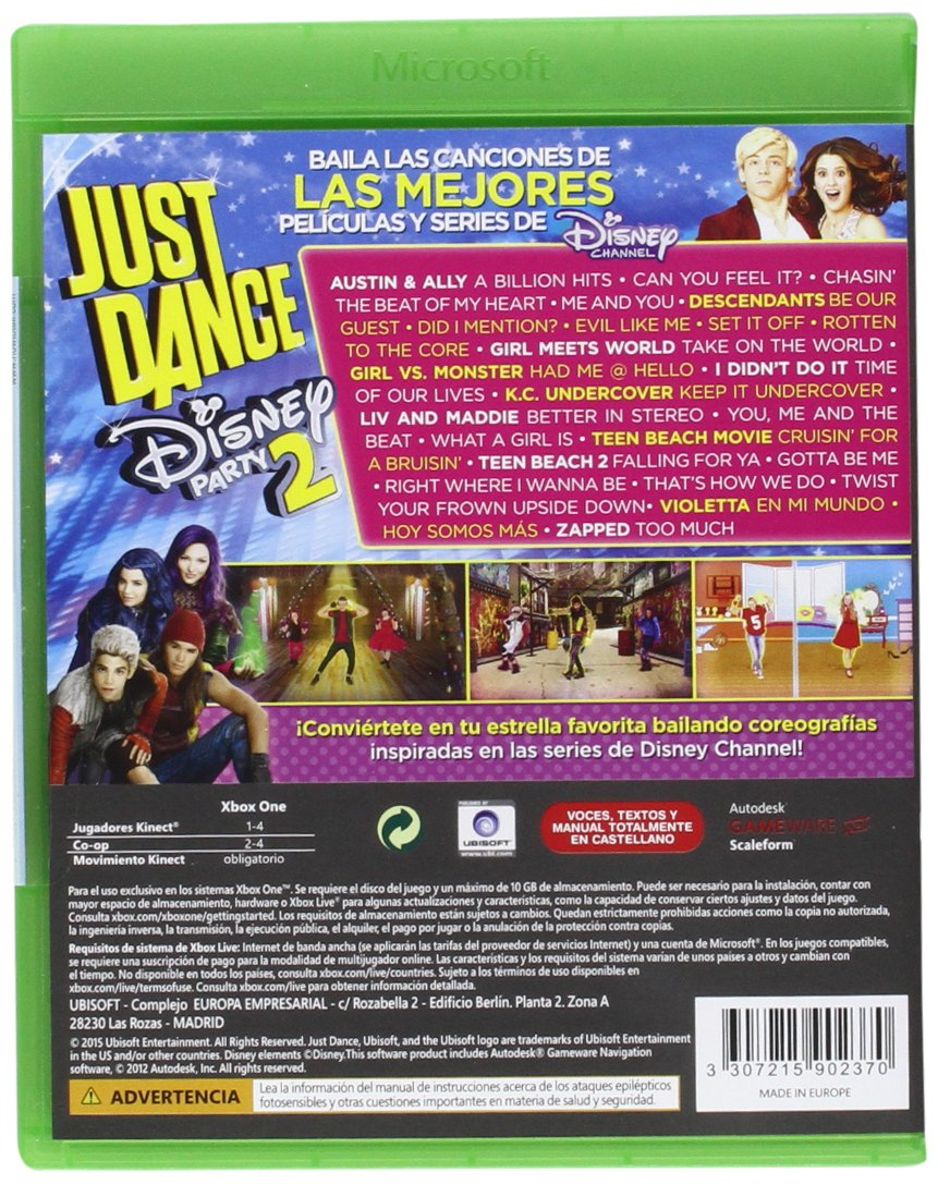 Just Dance Disney Party 2 (Xbox One) English Version