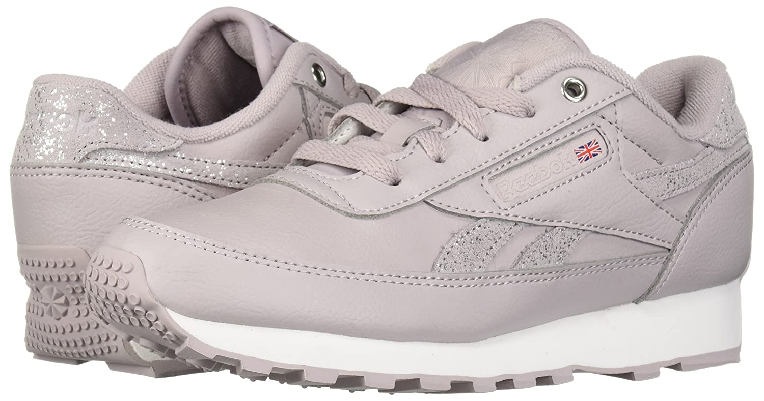 Reebok Women's Classic Renaissance Walking Shoe B077Z9937V 10 B(M) US|Usa-lavender Luck/White/Si