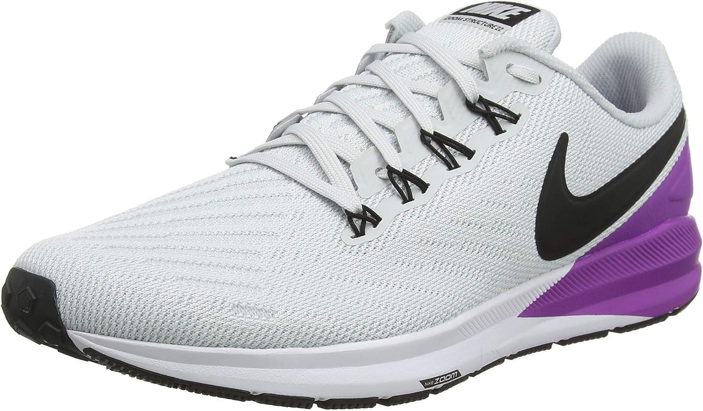 Nike Air Zoom Structure 22, Zapatillas de Running para Hombre: Amazon.es: Zapatos y complementos