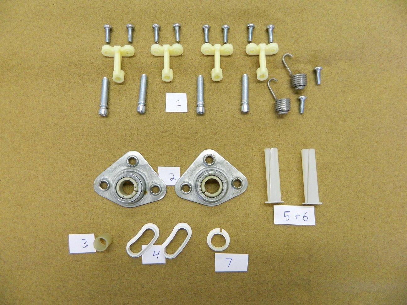 1968-1982 C3 Corvette Headlight Headlamp Bearing Bushing Restoration Kit #362995kit USA