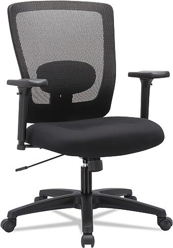 Alera ALE Envy Series Mesh Mid-Back Swivel/Tilt Chair