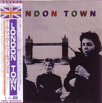 London Town MINI LP CD OBI by Paul McCartney & Wings: Amazon co uk