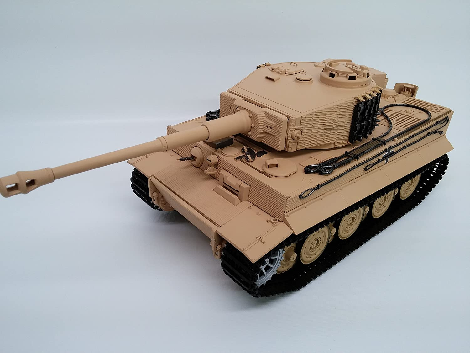 Taigen Tiger 1 Late Version Airsoft Plastic Model RTR RC Tank 1/16th 2 4GHz  TAG12020