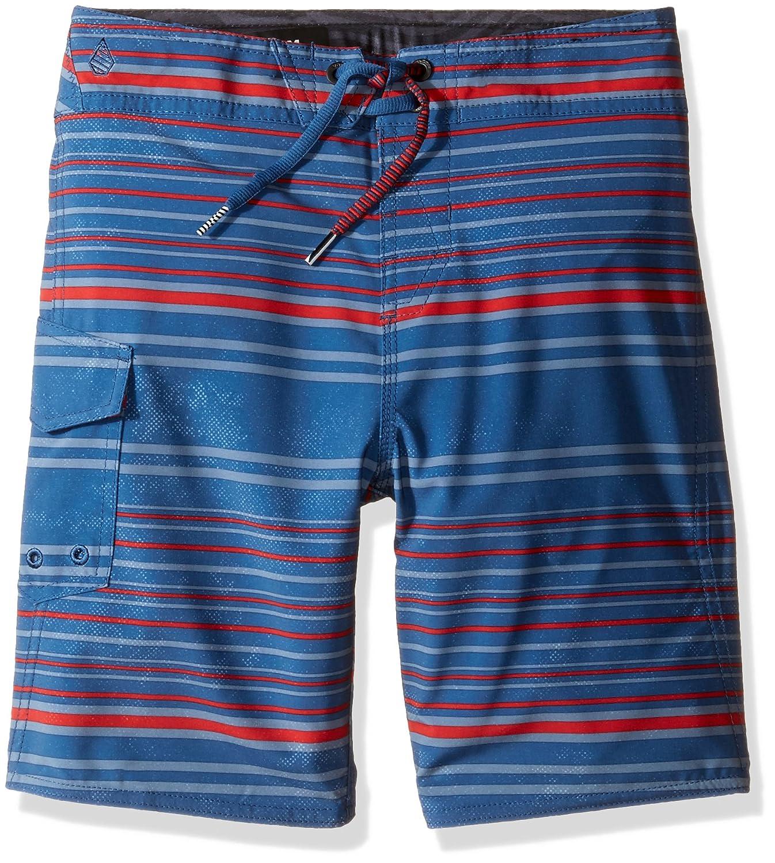 Volcom Baby Boys Magnetic Liney Little Youth Boardshort Smokey Blue 5 Volcom Children' s Apparel Y0811731
