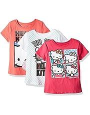 652f852ed Hello Kitty Girls' 3 Pack T-Shirt