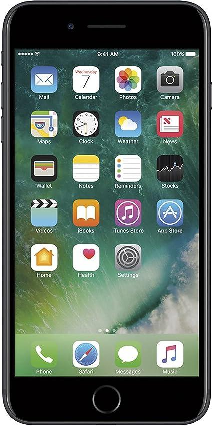 Amazon Com Apple Iphone 7 Plus 128gb Black For Gsm Renewed