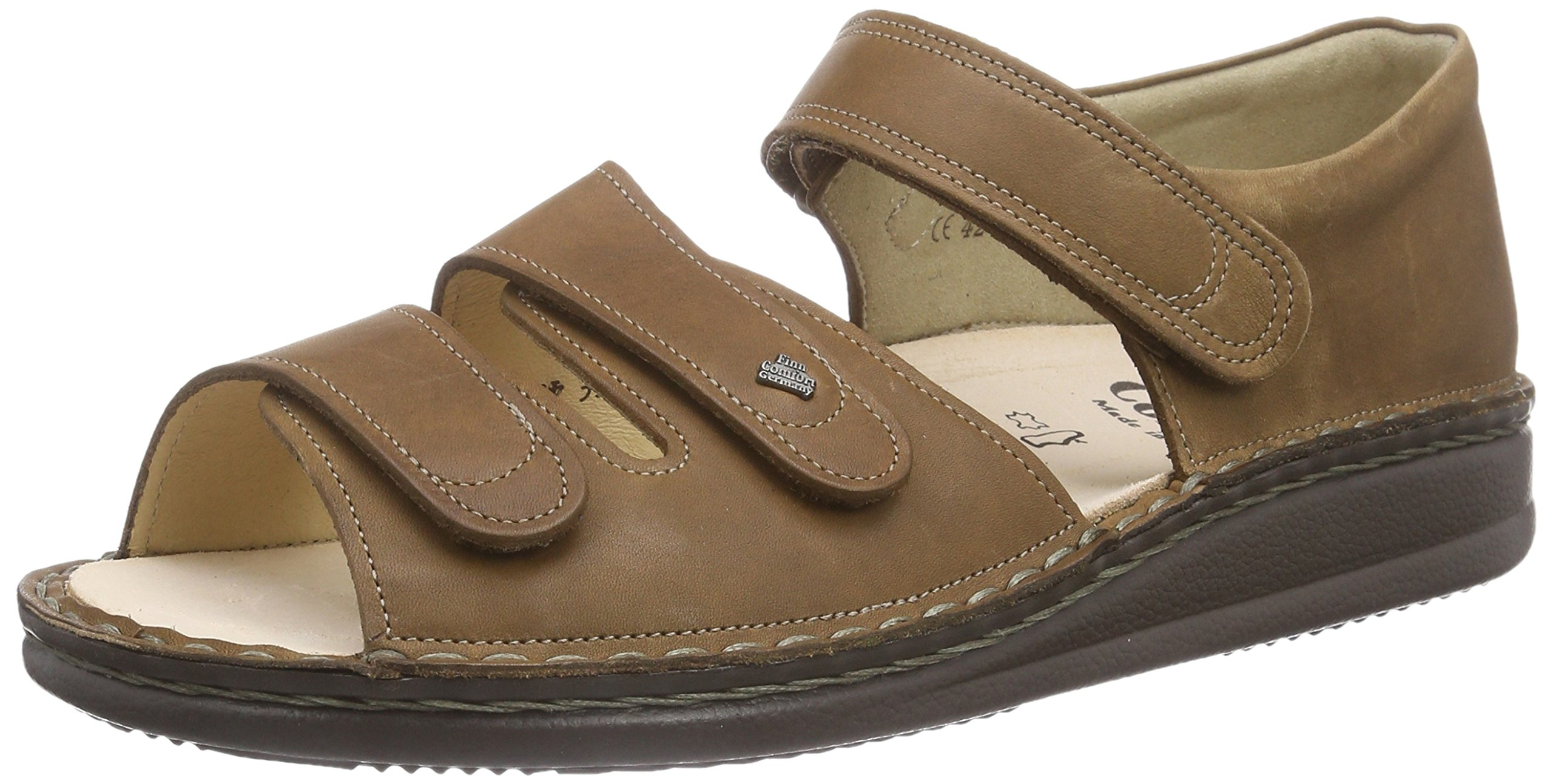 Finn Comfort Unisex Baltrum Nut Kansas Leather Size 39 Medium