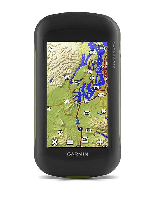 """6 opinioni per Garmin Montana 610 GPS Portatile, Schermo da 4"""" Touch, Nero/Verde"""
