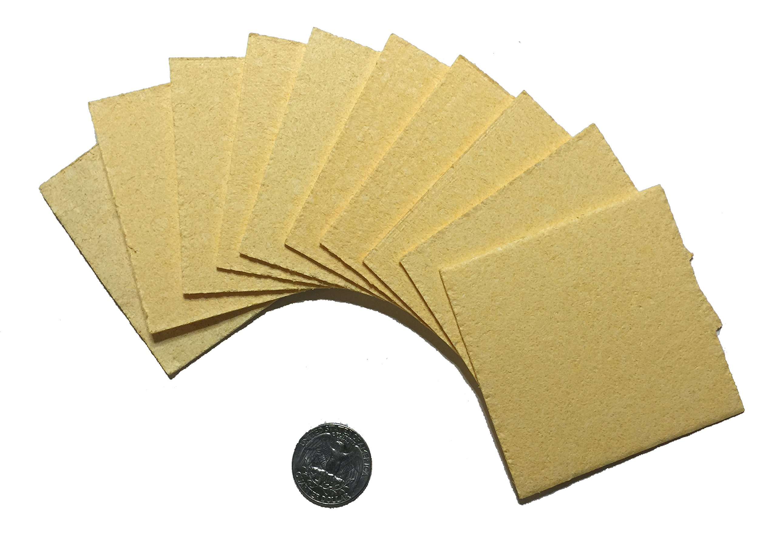 Amrex 3''x3'' Sponge Insert Replacements From Caputron (10 inserts/pack)