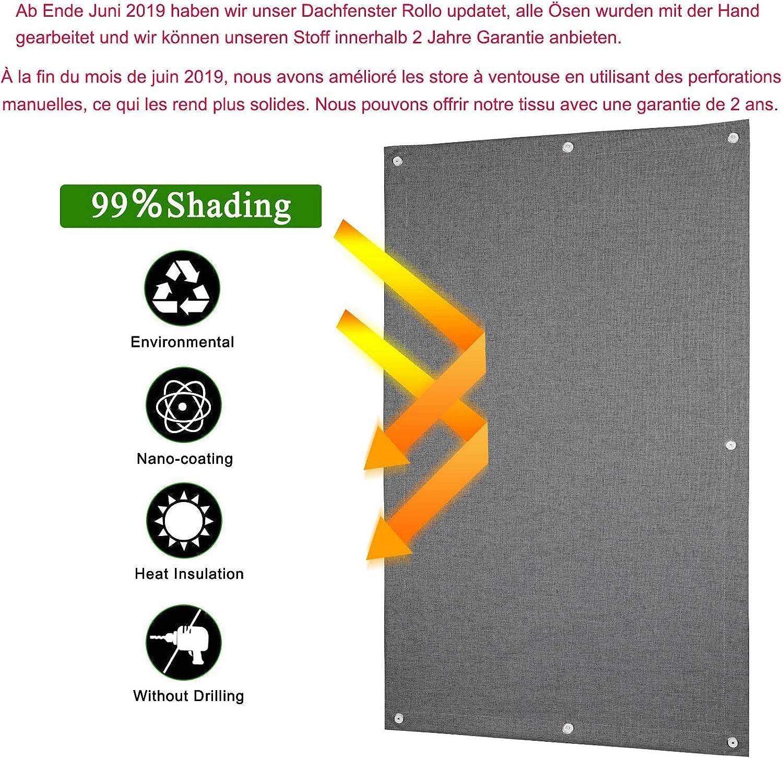ORIG velux store thermo-rollo plastique Fenêtre avec GPU ghu GTU gxu