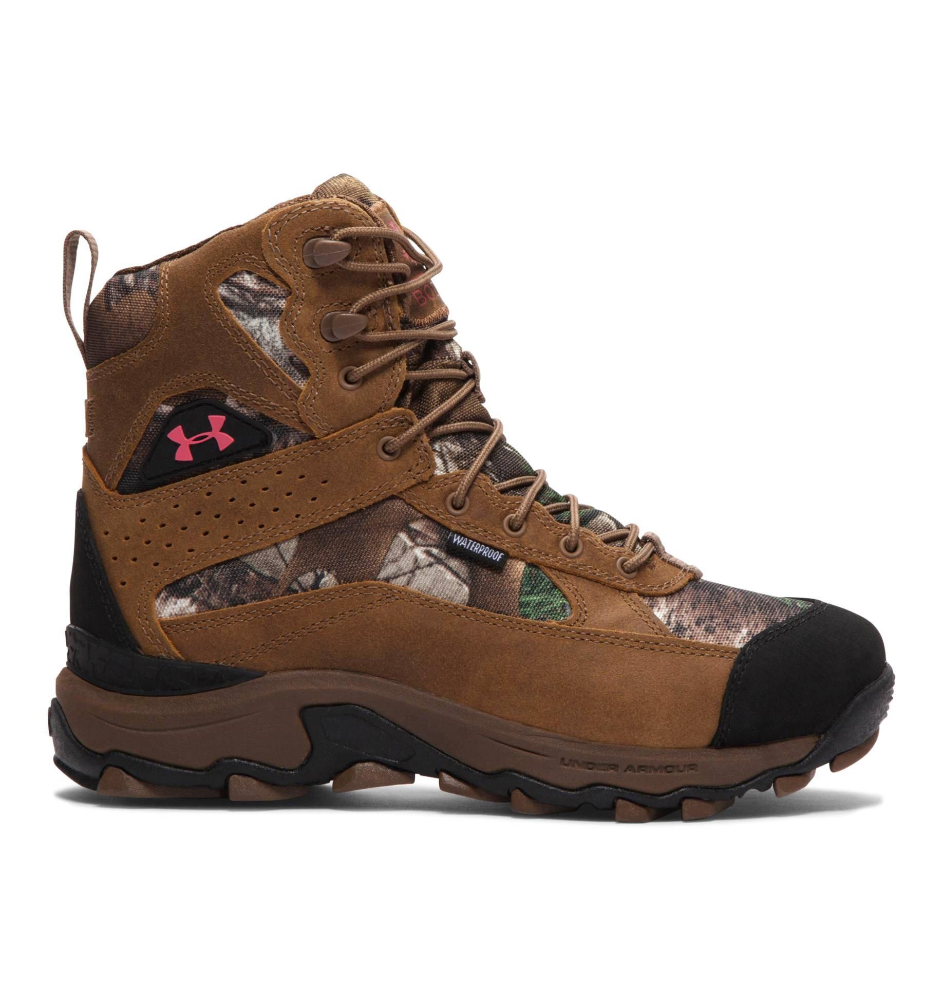 Under Armour UA Speed Freek Bozeman 600 Boot - Women's Realtree Ap-Xtra / Uniform / Perfection 10