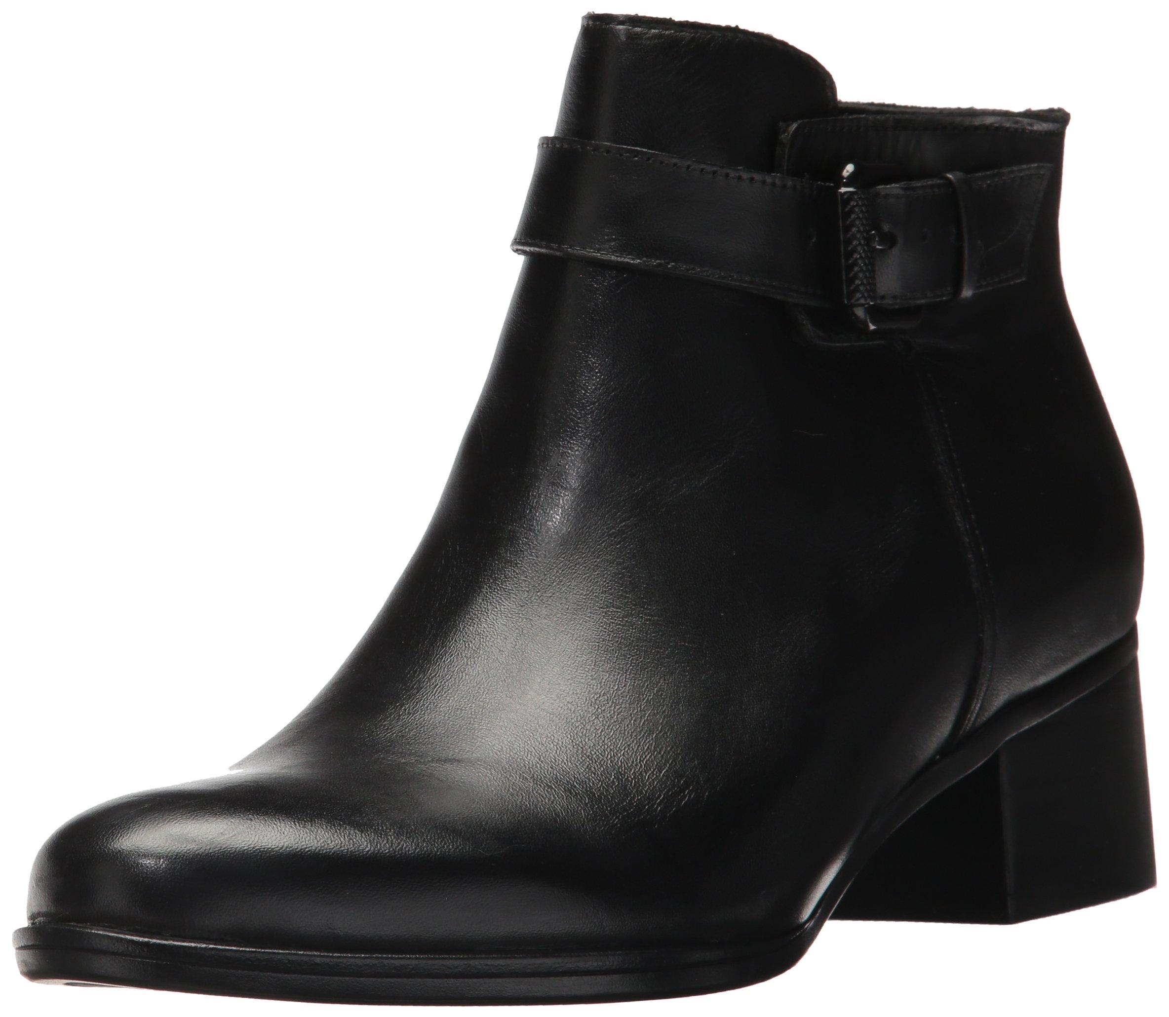 Naturalizer Women's Dora Ankle Bootie, Black, 10.5 M US