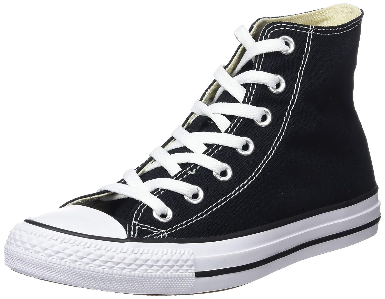 Amazon.com | Converse Chuck Taylor All Star - Hi, Unisex Adults Hi-Top Trainers, Black (Black 001), 18 UK (54 EU) | Fashion Sneakers